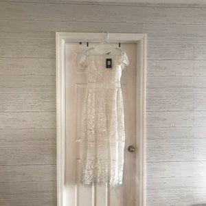 Gorgeous Long White Dress!